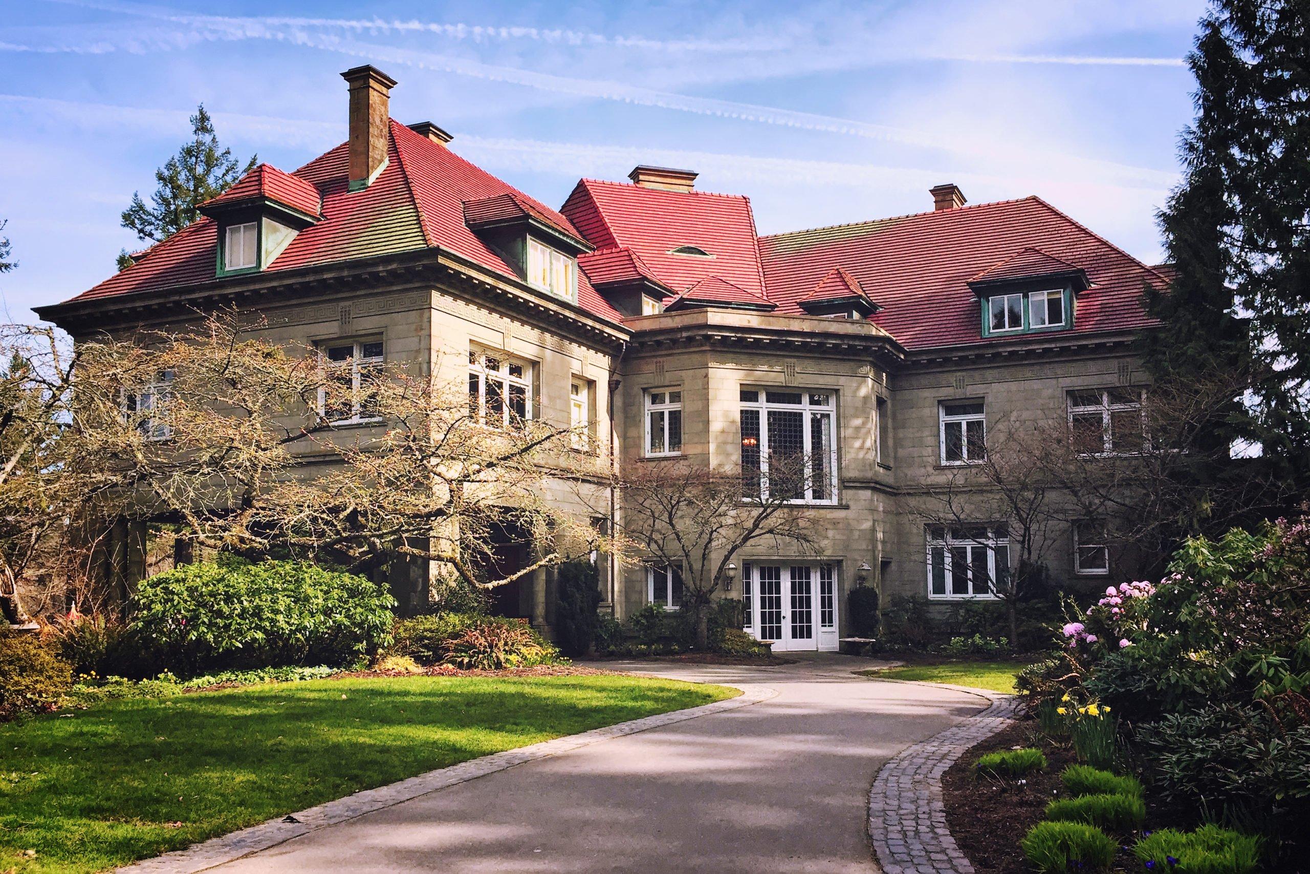 Pittock Konağı Amerika'nın En Mutlu Perili Evi scaled