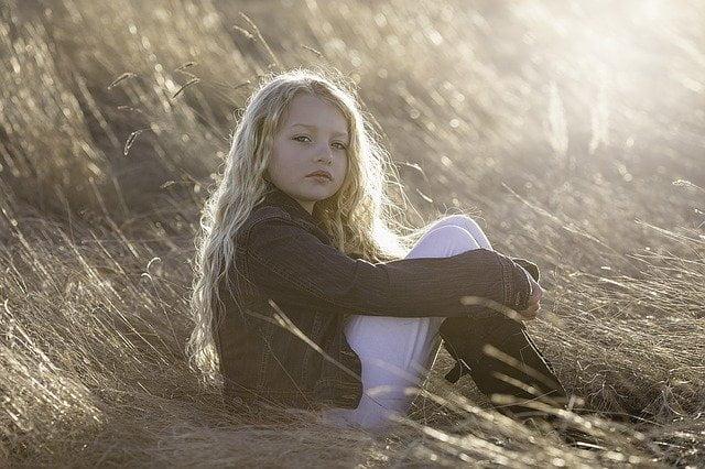 model little girl child portrait 1216916