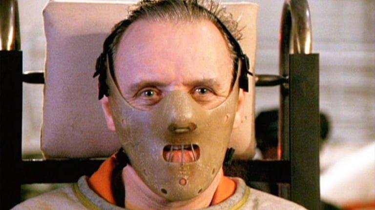 Klasik korku kötü adam Hannibal Lector Kuzuların Sessizliği