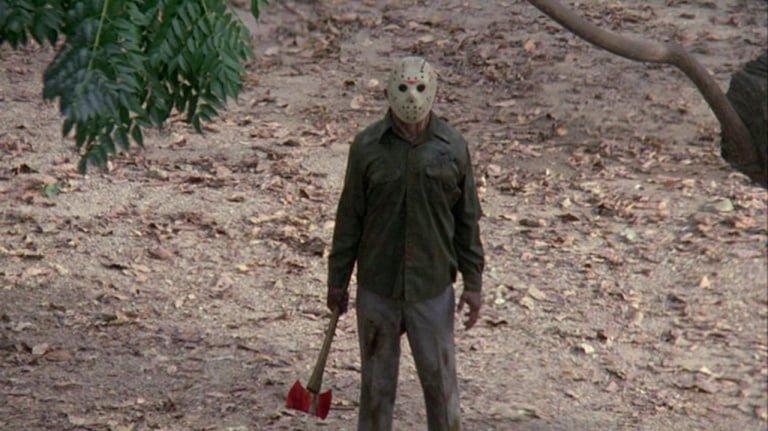 Klasik korku kötü adam Jason Voorhees Cuma 13