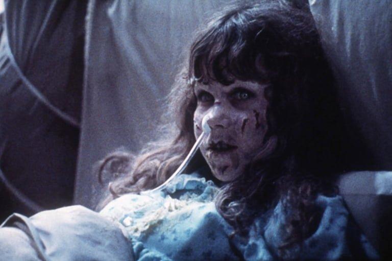 Korkunç iblis korku filmi kötü adam Exorcist
